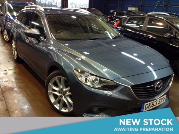 2013 (63) Mazda 6 2.2d [175] Sport Nav 5dr Auto 5 Door Estate