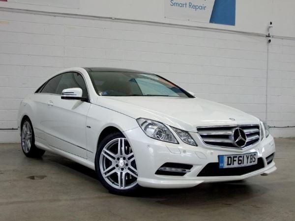 2011 (61) Mercedes-Benz E Class E350 CDI BlueEFFICIENCY [265] Sport 2dr Tip Auto Coupe [Pan/Rf] 2 Door Coupe