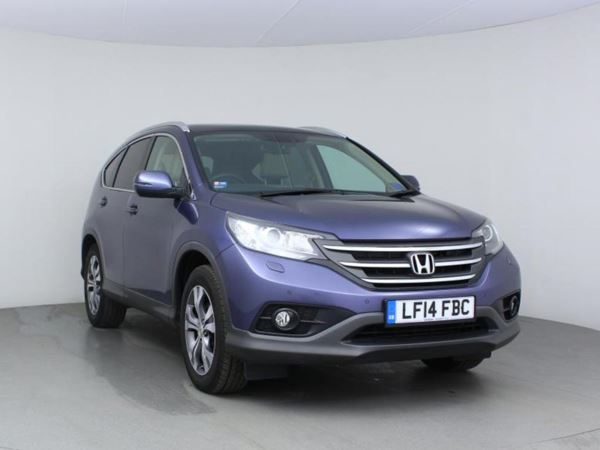 2014 (14) Honda CR-V 2.2 i-DTEC EX - Pan Roof - Sat Nav - Leather 5 Door 4x4
