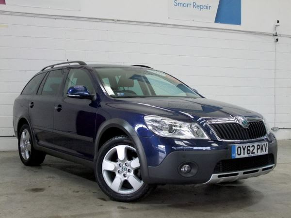 2012 (62) Skoda Octavia 2.0 TDI CR Scout 4x4 5 Door Estate