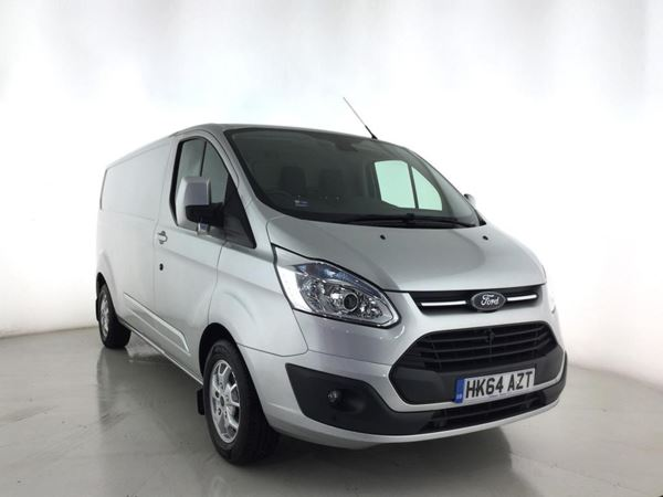 2014 (64) Ford Transit Custom 2.2 TDCi 125ps Low Roof Limited Door Panel Van