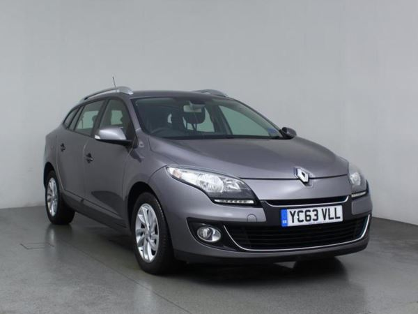2013 (63) Renault Megane 1.5 dCi 110 Dynamique TomTom 5dr [Start Stop] 5 Door Estate