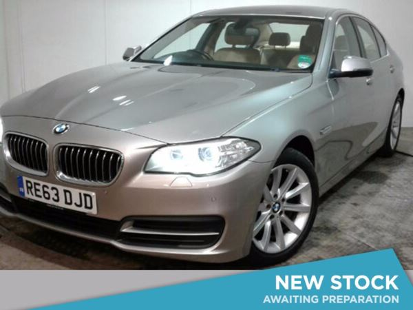 2013 (63) BMW 5 Series 520d SE 4dr Step Auto [Start Stop] 4 Door Saloon