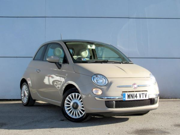 2014 (14) Fiat 500 1.2 Lounge 3dr [Start Stop] 3 Door Hatchback