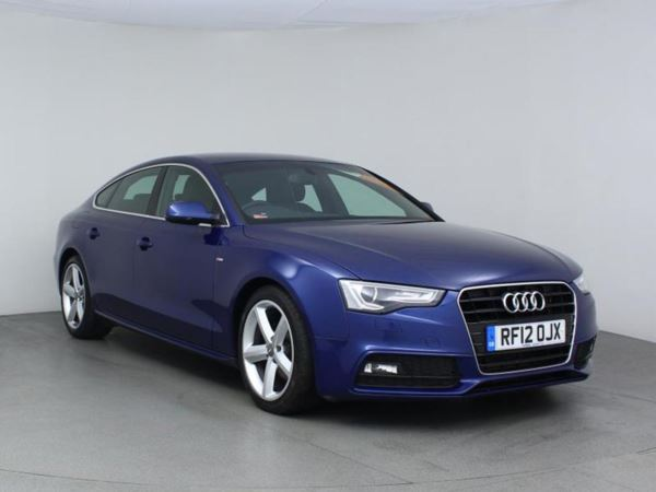 2012 (12) Audi A5 2.0 TDI 177 S Line - Leather - £1680 Of Extras - Bluetooth - £30 Tax 5 Door Hatchback