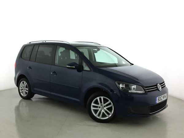 2012 (12) Volkswagen Touran 1.6 TDI 105 BlueMotion Tech SE 5dr - MPV 7 SEATS 5 Door MPV