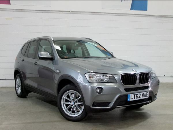 2012 (62) BMW X3 xDrive20d SE Step Auto - £4585 Of Extras - Leather - Bluetooth - 1 Owner 5 Door 4x4