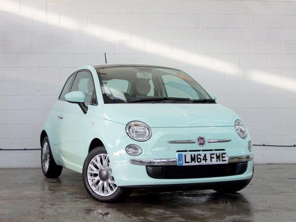 2014 (64) Fiat 500 1.2 Pop 3dr [Start Stop] 3 Door Hatchback