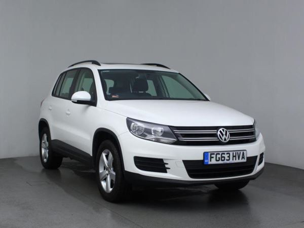2013 (63) Volkswagen Tiguan 2.0 TDi BlueMotion Tech S 5dr [2WD] 5 Door Estate