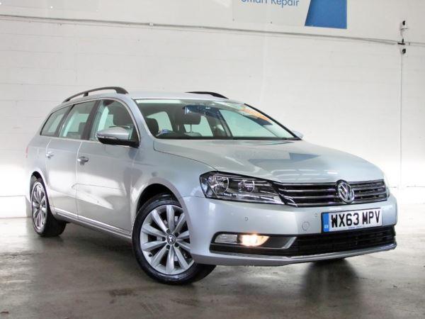 2013 (63) Volkswagen Passat 2.0 TDI Bluemotion Tech Highline - £800 Of Extras - Sat Nav - Bluetooth 5 Door Estate