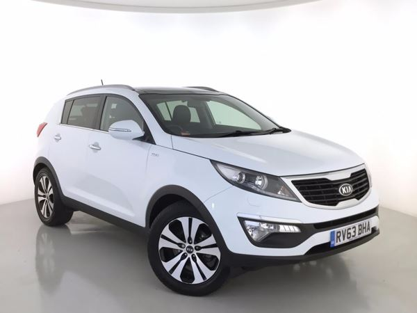2013 (63) Kia Sportage 2.0 CRDi KX-3 Auto [Sat Nav] - Sat Nav - Panroof - Leather - Bluetooth 5 Door 4x4