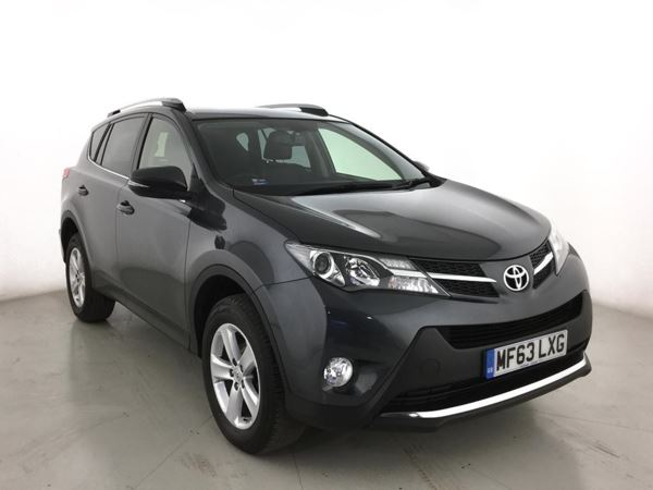 2013 (63) Toyota Rav 4 2.0 D-4D Invincible 5dr 2WD - SUV 5 Seats 5 Door 4x4