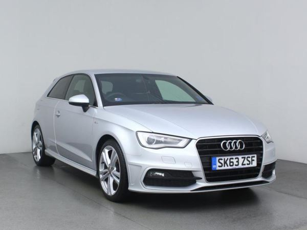 2013 (63) Audi A3 2.0 TDI S Line - Leather - Bluetooth - £20 Tax - 3 Door Hatchback