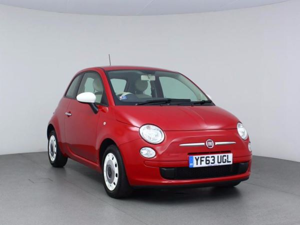 2014 (63) Fiat 500 1.2 Colour Therapy - £30 Tax - 1 Owner - Low Miles - Low Insurance - Aircon 3 Door Hatchback