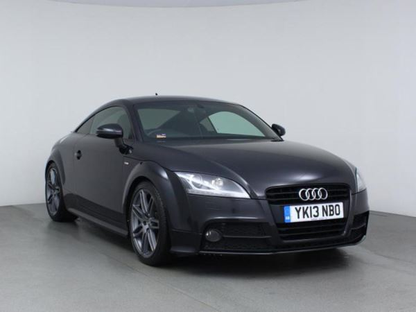 2013 (13) Audi TT 2.0T FSI Black Edition - Sat Nav - £3890 Of Extras - Leather - 1 Owner 2 Door Coupe