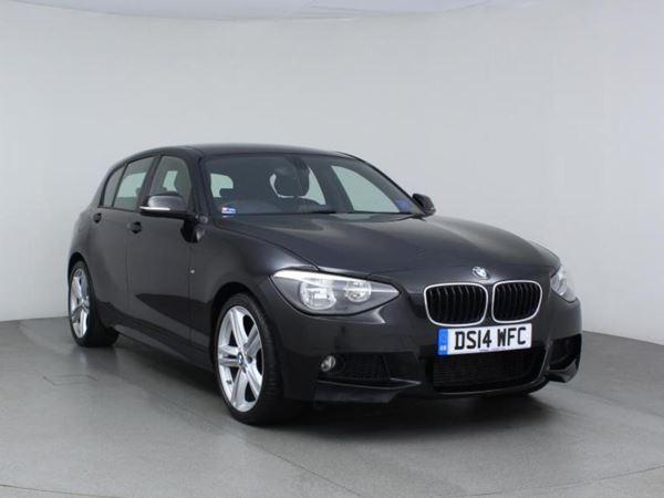 2014 (14) BMW 1 Series 120d M Sport - Leather - Bluetooth - £30 Tax - 1 Owner - Dab Radio 5 Door Hatchback