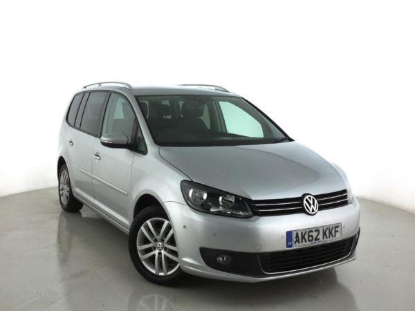 2012 (62) Volkswagen Touran 1.6 TDI 105 SE DSG Auto - 7 Seat MPV 5 Door MPV