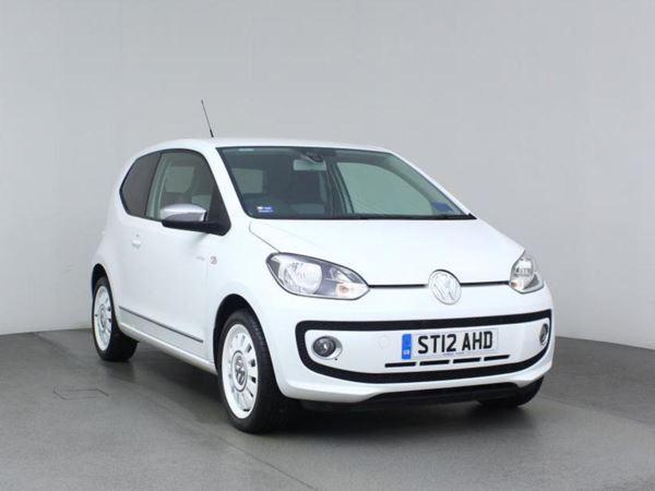 2012 (12) Volkswagen UP 1.0 Up White 3dr 3 Door Hatchback