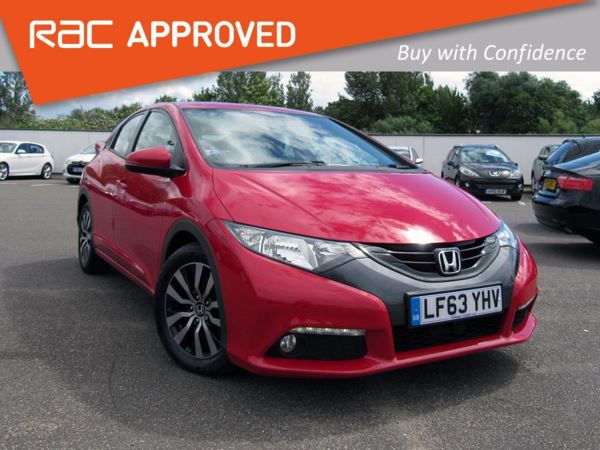 2013 (63) Honda Civic 1.6 i-DTEC ES - Bluetooth - 1 Owner - £0 Tax 5 Door Hatchback