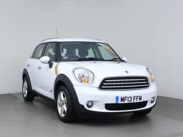 2013 (13) MINI Countryman 1.6 Cooper D ALL4 - Bluetooth - 1 Owner - Parksensors - Dab Radio - USB 5 Door Hatchback