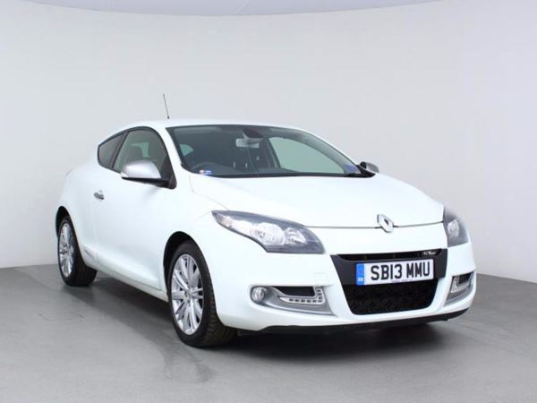 2013 (13) Renault Megane 1.5 dCi 110 GT Line TomTom [Start Stop] - Sat Nav - Bluetooth - Zero Tax - 3 Door Coupe