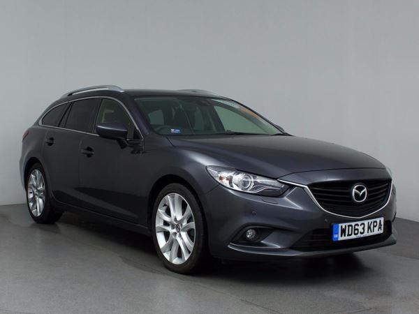 2014 (63) Mazda 6 2.2d [175] Sport Nav 5dr 5 Door Estate