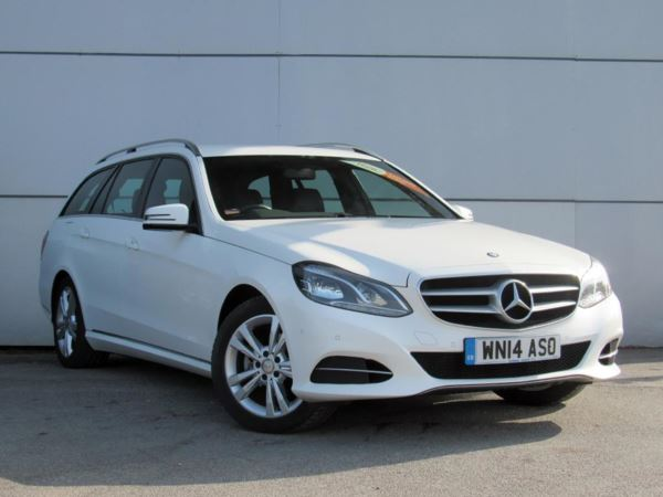 2014 (14) Mercedes-Benz E Class E220 CDI SE 7G-Tronic Auto - Sat Nav - Leather - Bluetooth - 1 Owner 5 Door Estate