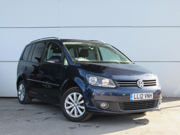 2012 (12) Volkswagen Touran 2.0 TDI BlueMotion Tech Sport- MPV 7 Seats - 1 Owner - Parksensor - Dab - 5 Door MPV