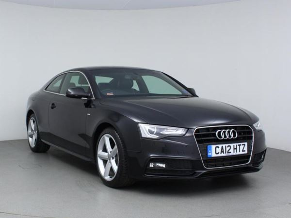 2012 (12) Audi A5 2.0 TDI 177 S Line - Leather - £1850 Of Extras - Parksensor - 1 Owner 2 Door Coupe