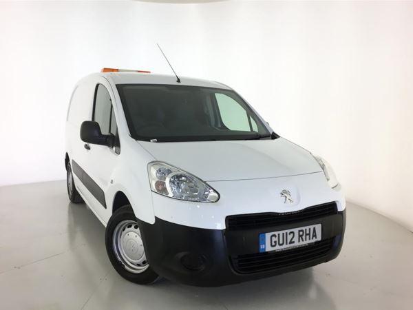 2012 (12) Peugeot Partner 625 S 1.6 HDi 75 Van Door Panel Van