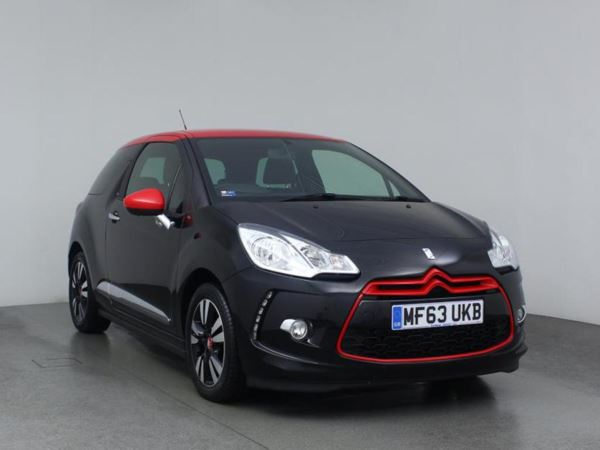 2013 (63) Citroen DS3 1.6 e-HDi Airdream DStyle Red 3dr 3 Door Hatchback