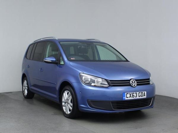 2013 (63) Volkswagen Touran 1.6 TDI 105 BlueMotion Tech SE 5dr - MPV 7 Seats 5 Door MPV