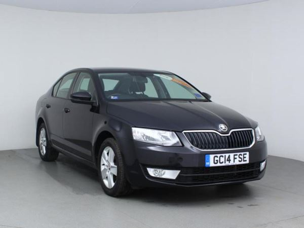 2014 (14) Skoda Octavia 1.6 TDI CR SE - Bluetooth - Zero Tax - 1 Owner - Parksensors - Dab - Aux 5 Door Hatchback