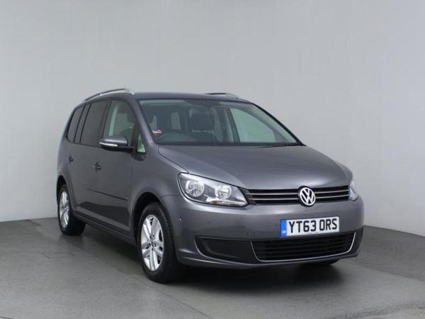 2013 (63) Volkswagen Touran 1.6 TDI 105 BlueMotion Tech SE 5dr DSG - MPV 7 Seats 5 Door MPV