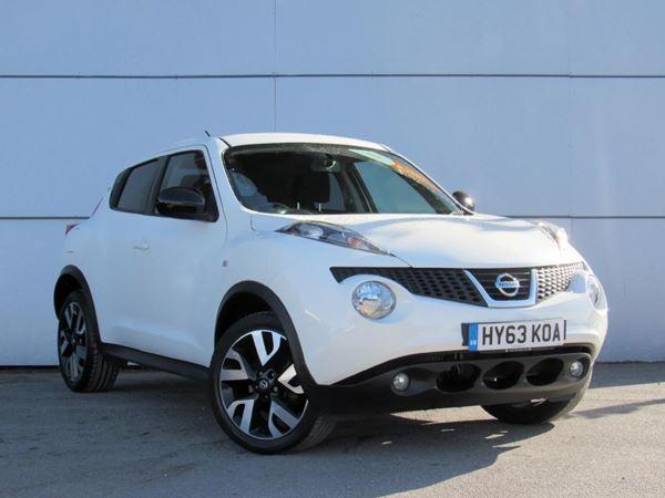 2013 (63) Nissan Juke 1.5 dCi N-Tec [Start Stop] - Sat Nav - Bluetooth - £20 Tax 5 Door Hatchback