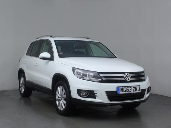 2013 (63) Volkswagen Tiguan 2.0 TDi 4Motion 4WD BlueMotion Tech Match 5dr DSG 5 Door Estate