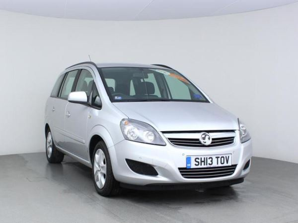 2013 (13) Vauxhall Zafira 1.6i [115] Exclusiv- MPV 7 Seats - 1 Owner - Parkassist - Low Miles - 5 Door MPV