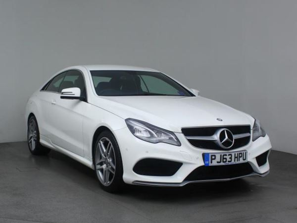 2014 (63) Mercedes-Benz E Class E220 CDI AMG Sport 2dr 2 Door Coupe