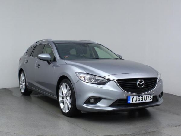 2013 (63) Mazda 6 2.2d Sport 5 Door Estate