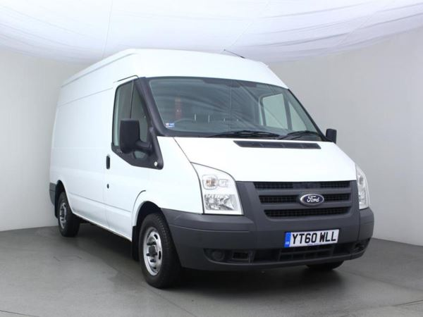 2011 (60) Ford Transit Medium Roof Van TDCi 85ps - Ply Lined Door Panel Van