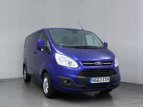 2013 (63) Ford Transit Custom 2.2 TDCi 125ps 270 L1 FWD Low Roof Limited Door Panel Van