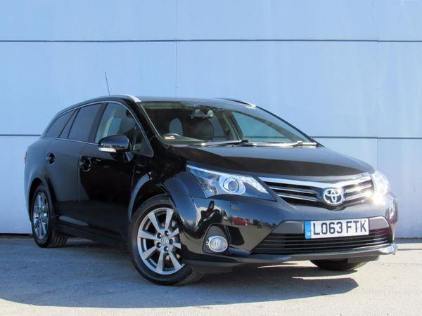 2013 (63) Toyota Avensis 2.0 D-4D Excel - Sat Nav - Panroof - Leather - Bluetooth - £30 Tax 5 Door Estate