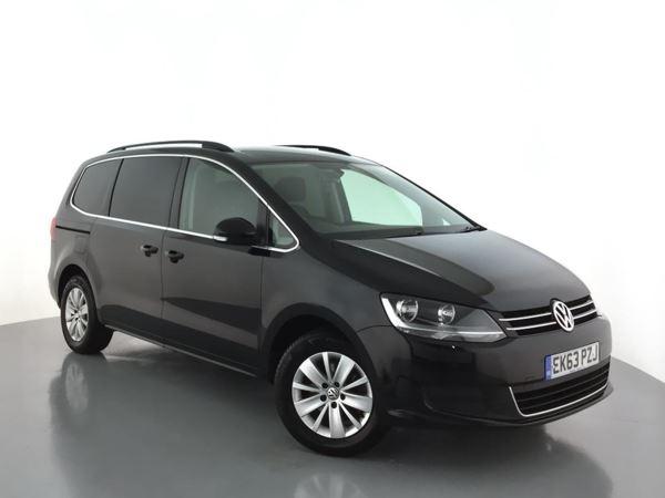 2013 (63) Volkswagen Sharan 2.0 TDI CR BlueMotion Tech 140 SE 5dr 5 Door MPV