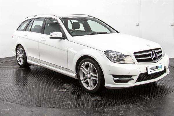 (2014) Mercedes-Benz C Class C220 CDI AMG Sport Edition 5dr Auto [Premium Plus]