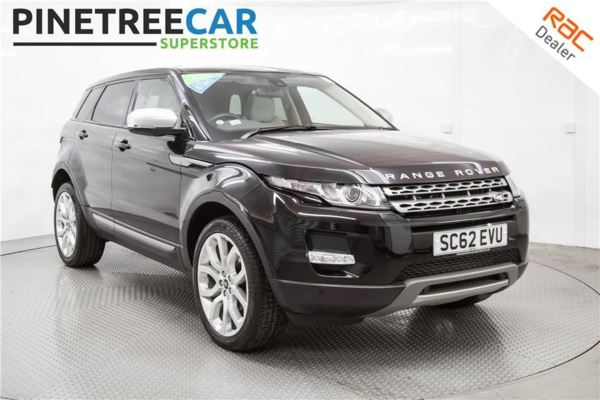 (2013) Land Rover Range Rover Evoque 2.2 SD4 Pure 5dr Auto [Tech Pack]