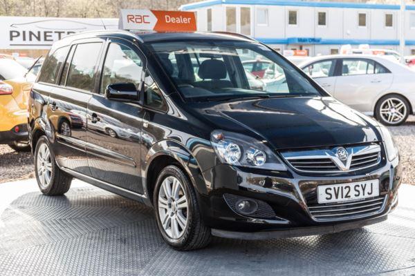 (2012) Vauxhall Zafira 1.6i [115] Excite 5dr