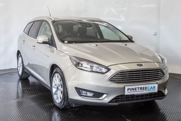(2015) Ford Focus 1.5 TDCi Titanium (s/s) 5dr 0.00 Road Tax, Sat Nav