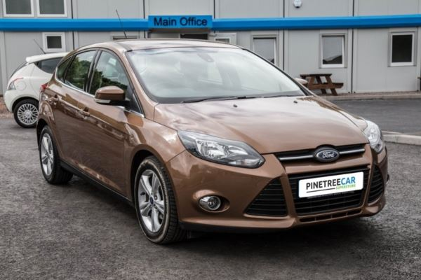 (2014) Ford Focus 1.6 TDCi ECOnetic Zetec (s/s) 5dr 1 Owner & Service History