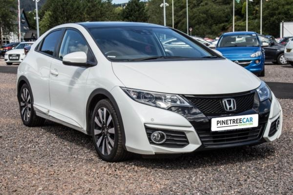 (2015) Honda Civic 1.8 i-VTEC SR 5dr (Honda Connect with Navi) Auto