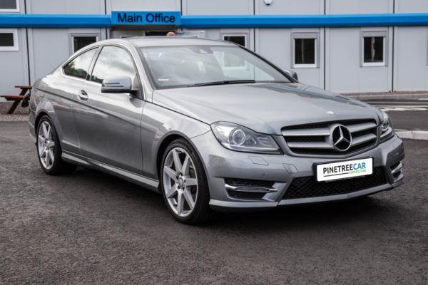 (2014) Mercedes-Benz C Class 2.1 C250 CDI AMG Sport Edition (Premium) 7G-Tronic Plus 2dr Auto SAT NAV - 18'' ALLOYS